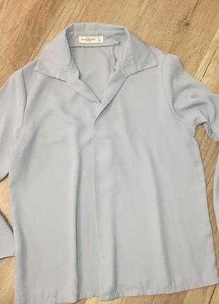 Блуза мода 2019 клёш рукава5 фото