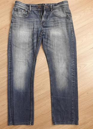 Невероятно красивые, стильные и аристократические джинсы синего цвета.  crafted