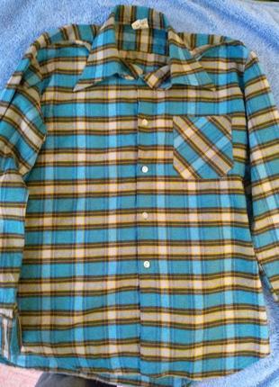 Теплая рубашка