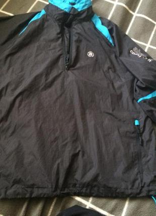 Легкая спортивная куртка ветровка анорак