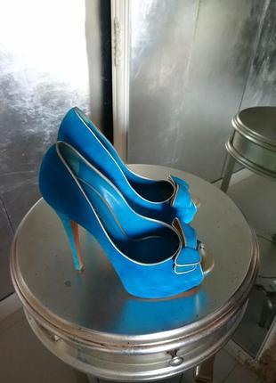 Casadei оригинал цветные туфли в моде как у сары джессики паркер