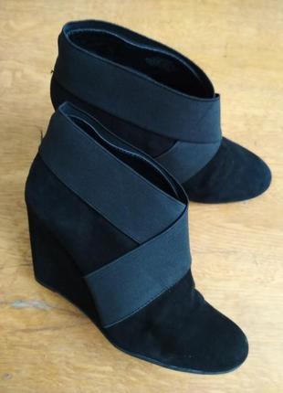 Туфли, ботинки bcbg замш, черевички