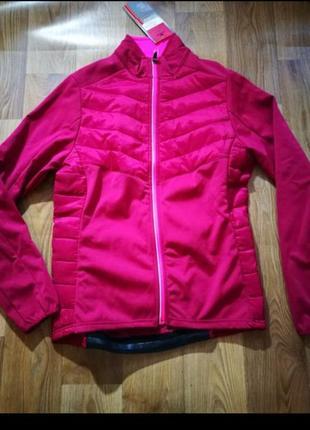 Бордовая куртка для велоспорта  crane! германия!
