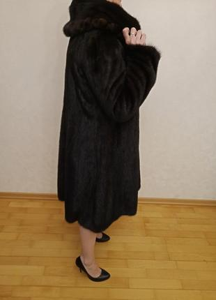 Роскошное норковое манто3 фото