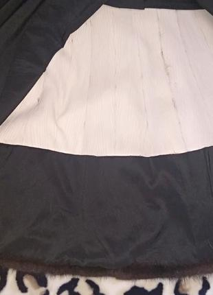 Роскошное норковое манто5 фото