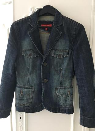 Піджак джинсовий жіночий меxx