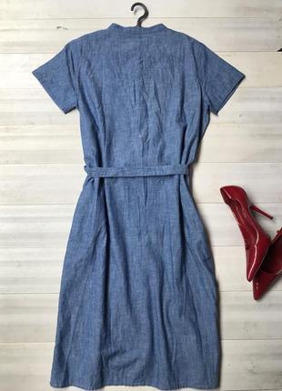 Стильное платье рубашка2 фото