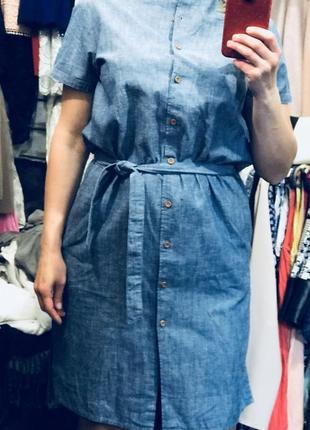 Стильное платье рубашка7 фото