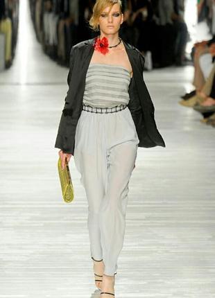 Ретро,винтаж,серебристые брюки-бананы