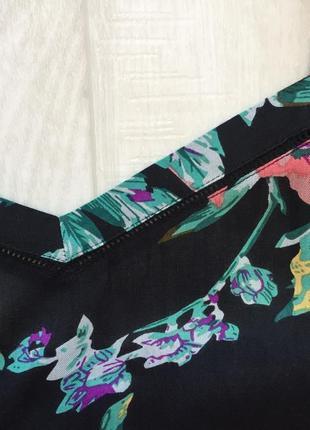 Топ в акварельные цветы peacocks4 фото