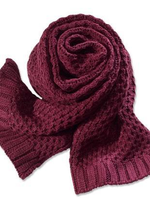 Теплый и уютный шарф tchibo, германия