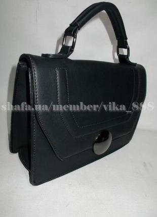 Клатч, сумка через плечо 20014 черный