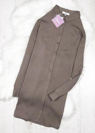 Натуральна оверсайз сукня-сорочка від missguided