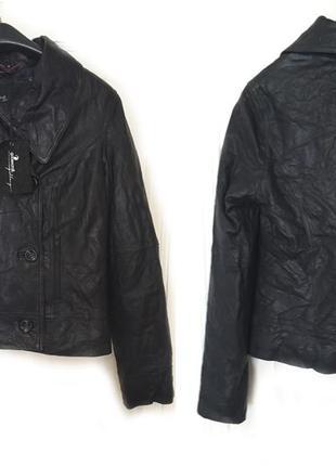 Новая кожаная куртка от бренда goosecraft!!!