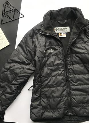 Оригинальная чёрная куртка columbia / лижная куртка / термо курточка