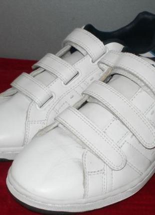 Кожаные кроссовки lonsdale (лонсдейл) 43р. стелька 28см.1