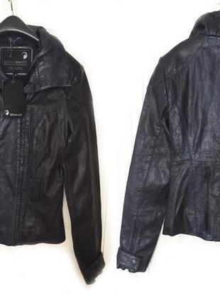 Новая кожаная куртка goosecraft!!!