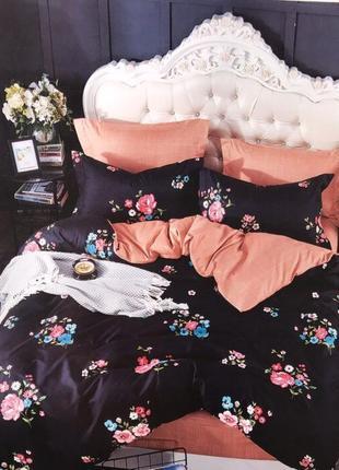 Комплект постельного белья евро сатин качество
