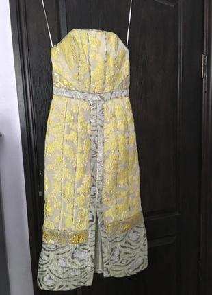 Сукня вечірня, на випускний з колекції h&m ss17 conscious exclusive4 фото