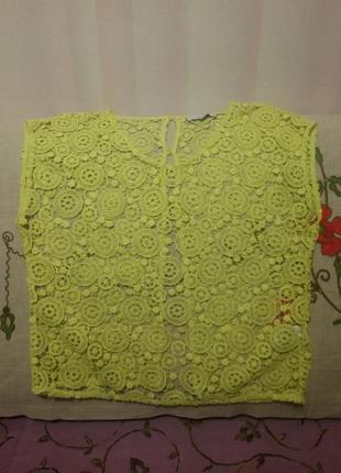 Блуза - накидка на платье (пог-55 см)