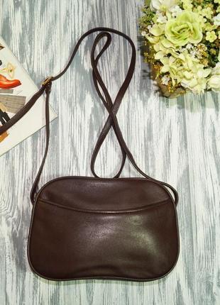 Laimbock. кожа. классная сумка через плечо, практичная кросс-боди на 2 отделения