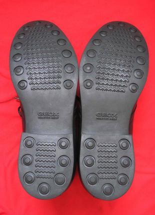 Geox respira u1352p (42) кожаные ботинки мужские7 фото