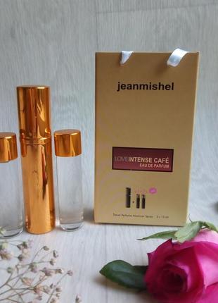 Набор парфюмерии со сменными флаконами intense cafe 45 мл