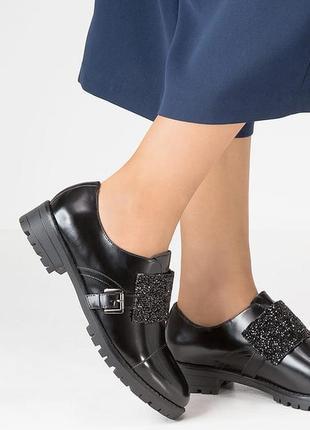 Брендовые туфли кожа