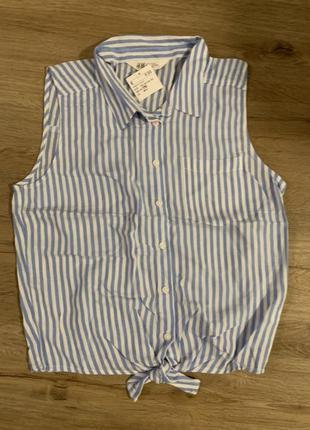 Стильная блузка для девочек h&m