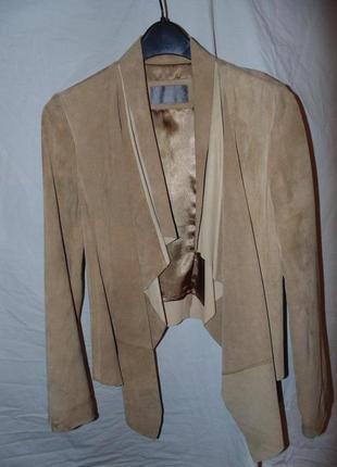 Куртка накидка косуха замшевая цвет трендовый south оригинал