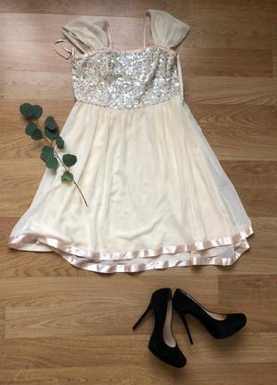 Обалденное шелковое платье французского бренда bgn