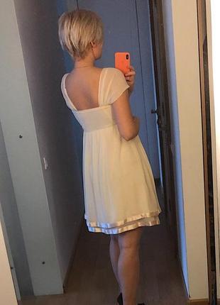 Обалденное шелковое платье французского бренда bgn4 фото