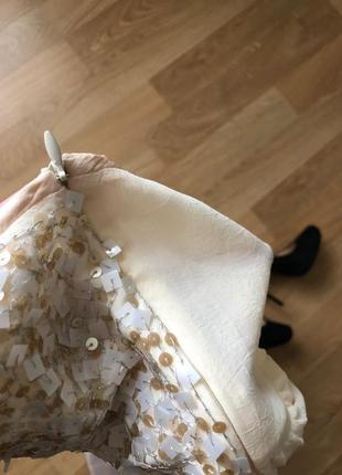 Обалденное шелковое платье французского бренда bgn5 фото