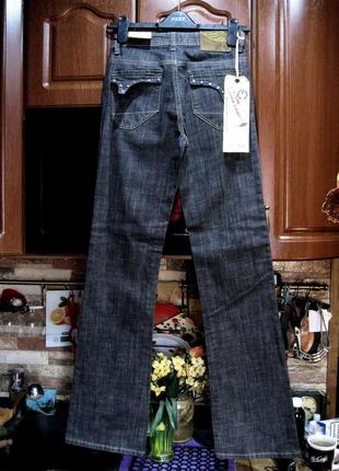 Moss (италия)   джинсы клеш  новые с бирками w 27/ l 344 фото