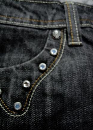 Moss (италия)   джинсы клеш  новые с бирками w 27/ l 346 фото