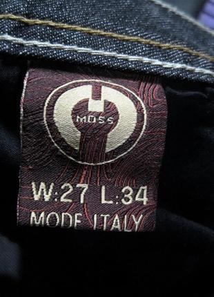 Moss (италия)   джинсы клеш  новые с бирками w 27/ l 348 фото