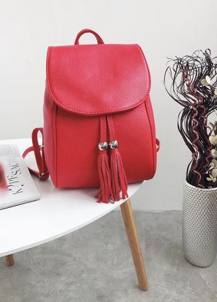 Кожаный рюкзак италия vera pelle