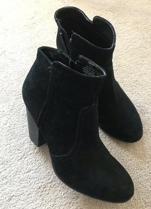 Ботинки h&m натуральна замша 41р