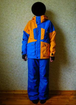 Костюм лижний на сноуборд лыжи лыжный термо штаны штани куртка s m спорт 170см