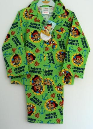 Шикарная фланелевая пижамка малышу из англии