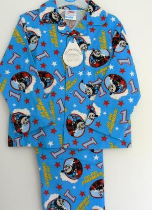 Шикарная фланелевая пижамка самым маленьким из англии