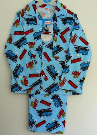 Фланелевая пижамка с томасом манюням из англии