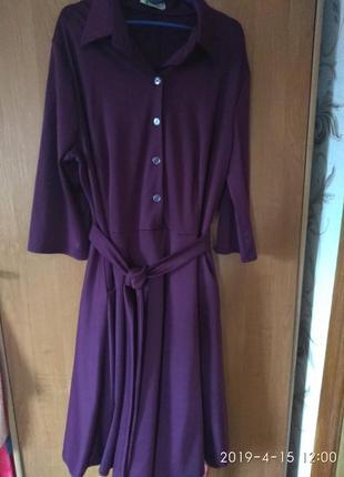 Нарядное женское платье большого размера 56-58р2 фото