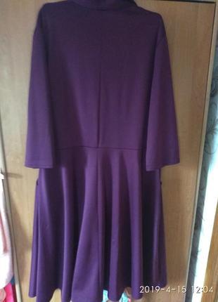 Нарядное женское платье большого размера 56-58р3 фото