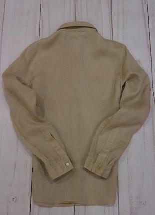 Рубашка из льна, calvin klein, оригинал, s-m3 фото
