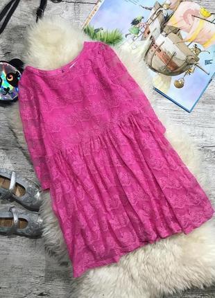 Яркое и модное платье h&m, 6-8 лет