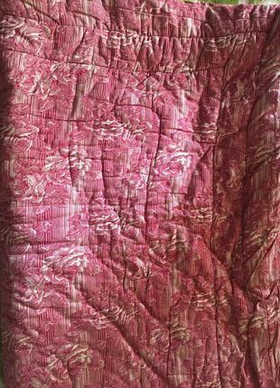 Ватное одеяло стёганное полуторное