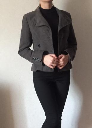 Кашемірове пальто-піджак