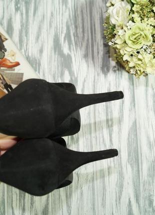 Marks&spencer. замша. очень красивые туфли актуально фасона2 фото