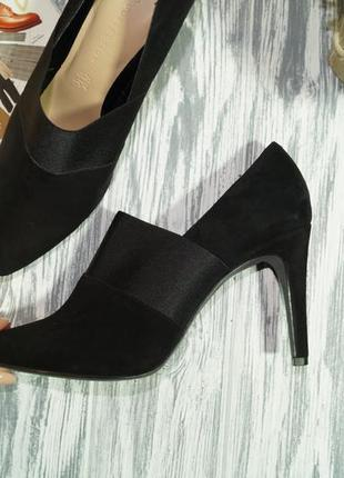 Marks&spencer. замша. очень красивые туфли актуально фасона3 фото
